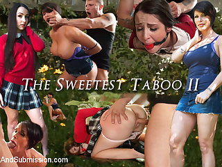Mr. Pete  Shay Fox  Lola Foxx in THE SWEETEST TABOO 2: A FEATURE PRESENTATION: Stepdaughter and Mother Bondage Fantasy Movie - SexAndSubmission
